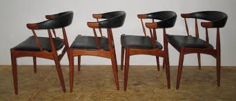 danish dining chairs by johannes andersen for brdr  set of
