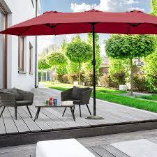 15 ft double sided outdoor patio