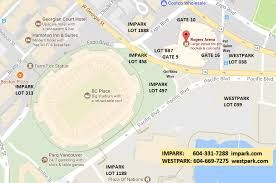 Parking Directions Rogers Arena