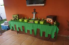 Minecraft Party Decorations Minecraft Birthday Party Crafthubs