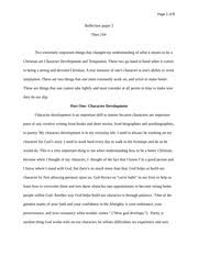 biblical worldview essay theo b biblical worldview essay i 6 pages reflection paper 2
