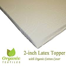 firm mattress toppers. Unique Mattress All Natural Latex Non Blended FIRM Mattress Topper 2 Inch Thick Cal King  Organic Cotton With Firm Toppers U