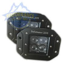 flush led light pods