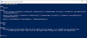 Powershell Windows Working With Hyper V And Windows Powershell Microsoft Docs