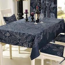 modern style rectangular tablecloths black and white leaves printing table cloths for party picnic hotel home deorations round linen tablecloths 108 round
