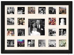 collage photo frames in decors