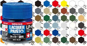 Tamiya Lacquer Paint Chart Bottled Lacquer Paints From Tamiya Mean You Can Broaden Your