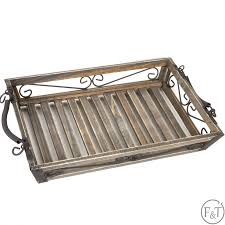 wooden bread serving tray