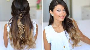 Luxy Hair Style french knot halfdo hairstyle youtube 1146 by wearticles.com