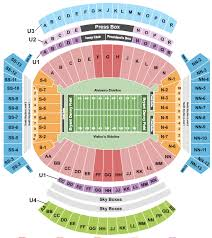 Bryant Denny Stadium Seating Chart Rows Seat Numbers And