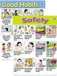 Safety Habits Chart Buy Safety And Good Habits Book Sterling Publishers