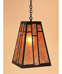 shown in bronze finish with almond mica glass
