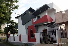 Small Picture Modern Duplex House Design in Bangalore India by Ashwin