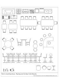 Autocad Kitchen Design Classy Free CAD Blocks Restaurant And Bar BLOCKS Pinterest Cad