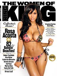 KING Magazine Relaunch Cover Rosa Acosta Nah Right Nah Right