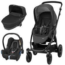 maxi cosi stella 3in1 cabriofix travel system nomad black
