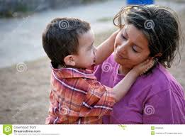 Beatiful Hispanic Mother and Child Stock Image - Image of generation,  facial: 8930055