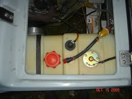 gas gauge Club Car Golf Cart Fuel Tank i just used a hole saw to cut a hole in the tank put the sending unit in and seal it up EZ Go Golf Cart Gas Tank
