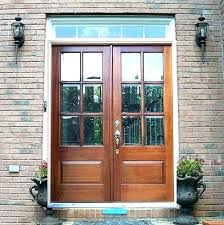 clear beveled glass on exterior doors leaded entry stained pella storm door double