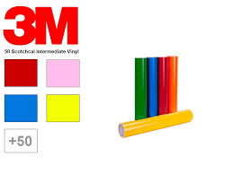 3m Scotchcal Vinyl Color Chart 3m Scotchcal 50 Craft Vinyl