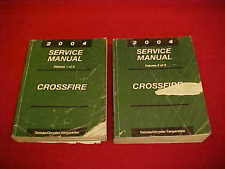 chrysler crossfire wiring 2004 chrysler crossfire original shop service repair manual wiring diagrams 04