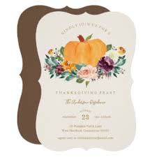 Thanksgiving Invites Pumpkin Patch Thanksgiving Dinner Invitation