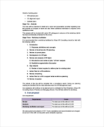 consultant proposal template 9 sample hr proposals word pdf pages