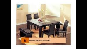 Modern Kitchen Dining Sets Modern Kitchen Dining Sets Design Ideas Youtube