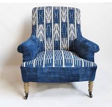 african textile upholstery
