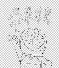 Nobita is the captain of a ship and fights against his doraemon the movie 2018: Doraemon Nobita Nobi Coloring Book Png Clipart Angle Arm Art Black And White Book Free Png
