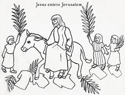 Small Picture Good Palm Sunday Coloring Page 69 About Remodel Coloring Site with