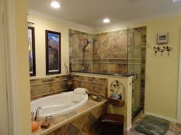 Traditional Master Bathroom With Handheld Shower Head  Master - Crown molding for bathroom