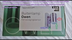 Karwei Buitenlamp Owen 1 Lichts Met Bewegingssensor Kat In De Zak Pure Oplichterij
