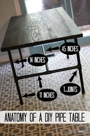 Diy Industrial Coffee Table Best 25 Industrial Table Ideas On Pinterest Metal Projects