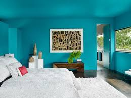 light blue wall painting for blue room white furniture