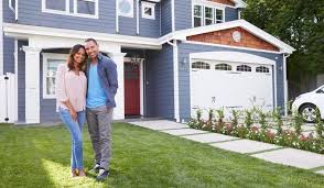 Image result for pictures of new homeowners looking at their homes from the outside