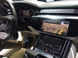 2018 audi navigation. simple navigation audi a8 piloted driving technology causes global sensation for 2018 audi navigation