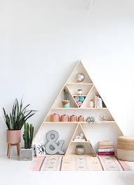 i diy studio triangle shelves i