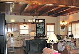 Beautiful Rustic Cabin Kitchens Attractive Image Of Decoration Using And Decorating Ideas