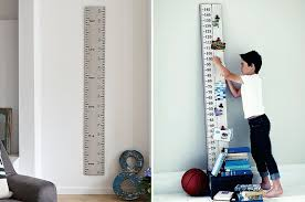 Wooden Ruler Height Chart Uk Eight Stylish Height Charts For Kids Rock My Family Blog