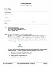 Contractor Proposal Template 034 Template Ideas Contractor Proposal Pdf Astounding Bid