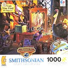 They are fun and very educational, and also appropriate for. Buy Can You Find 40 Objects Smithsonian Hope Diamond 1000 Piece Hidden Expedition Jigsaw Puzzle Made In Usa Puzzle Online At Low Prices In India Amazon In