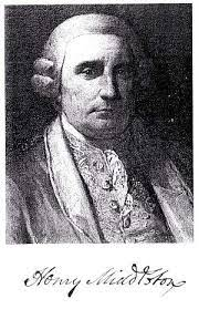 Henry Middleton - the Second American President