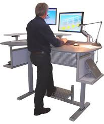 Fine Adjustable Height Desk Ikea Activdesk Electric Computer On Decor
