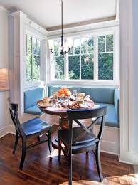 Dining Room, Round Table Layout Plus Warm Arm Chairs With Luxurious Breakfast  Corner Table Accomplishment