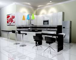 kitchen traditional white kitchen design black wall mounted cabinet reclaimed wood countertop recessed light impressive