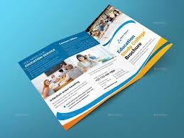 tri fold school brochure template tri fold education brochure template school brochure template psd