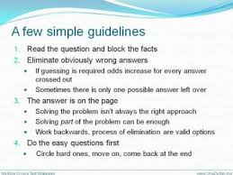 multiple test multiple choice test taking strategies
