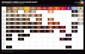 Joico Lumishine Permanent Creme Color Shade Chart Factsheet