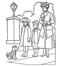 Mary Poppins Kleurplaten Leuk Voor Kids